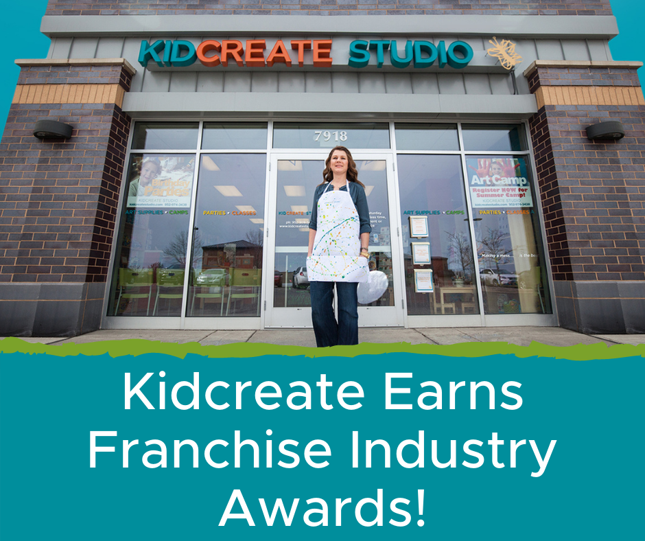 Kidcreate Earns Franchise Industry Awards