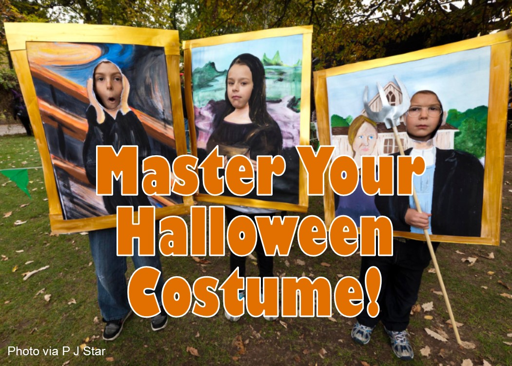 Master this Year's Halloween Costume!