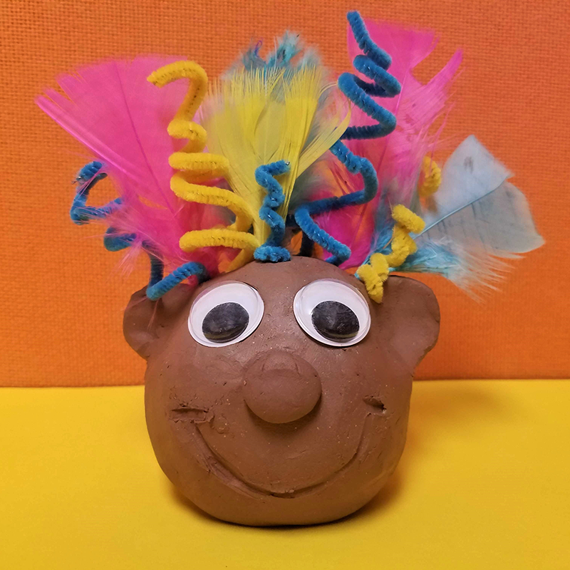 Kidcreate Studio, Baby Troll Art Project