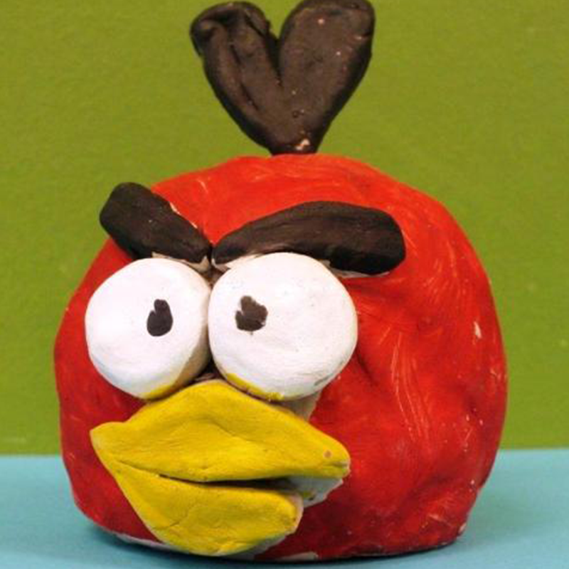 Kidcreate Studio, Angry Bird Art Project