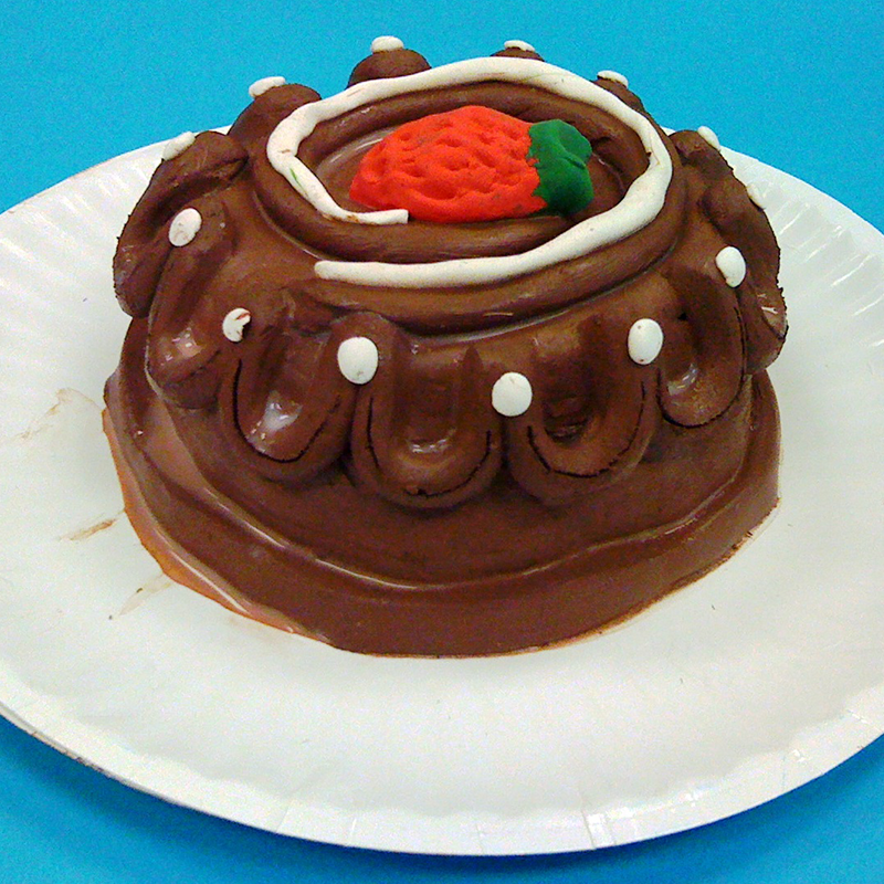Kidcreate Studio, Chocolate Cake Art Project
