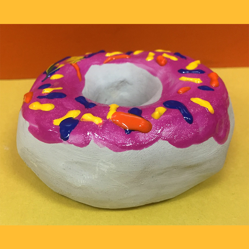 Kidcreate Studio, Donut Art Project