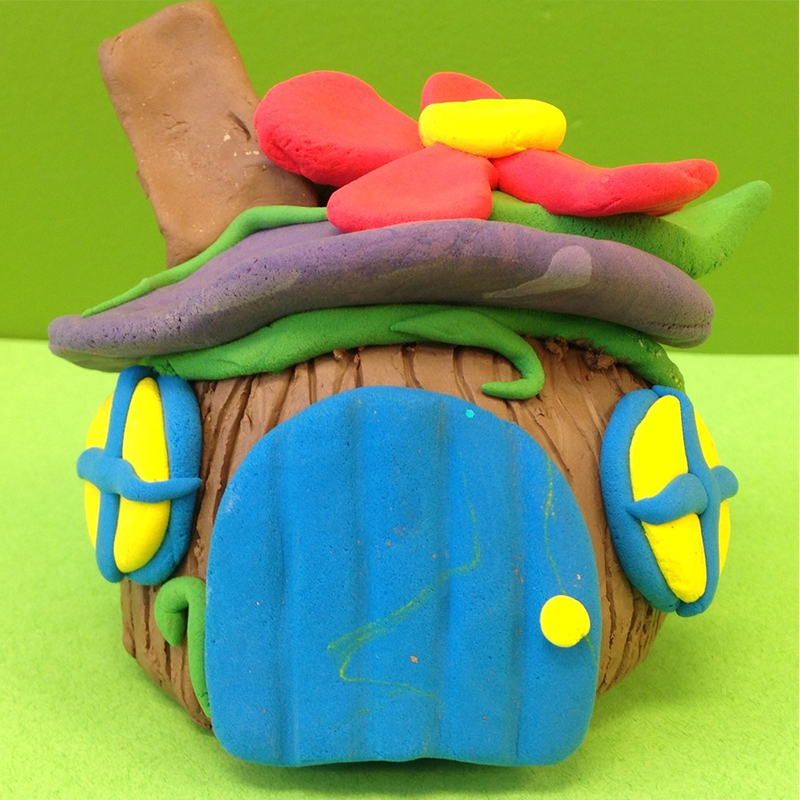 Kidcreate Studio - Woodbury, Fairy House Art Project