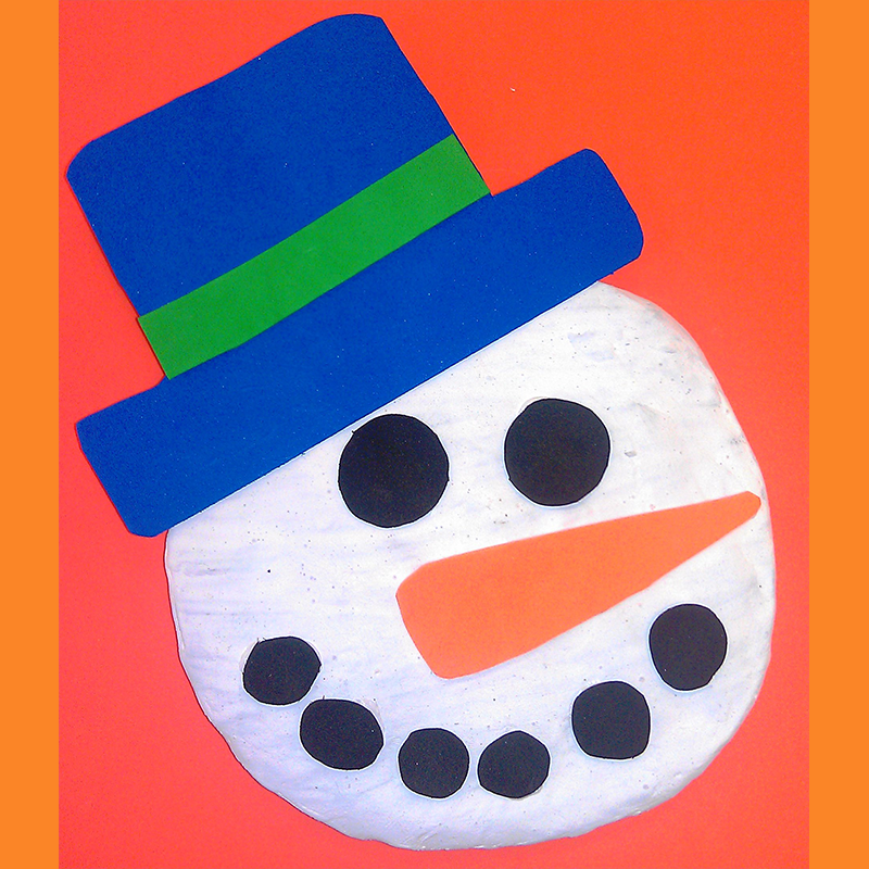 Kidcreate Studio, Clay Frosty Art Project