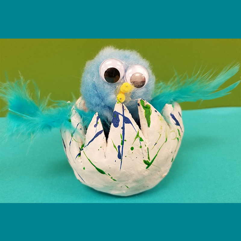 Kidcreate Studio, Hatchimal Art Project