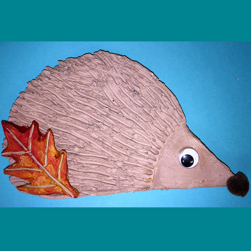 Kidcreate Studio, Hedgehog Art Project