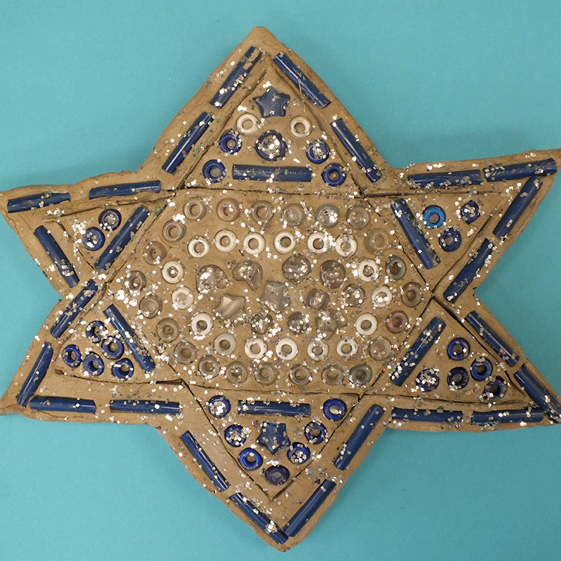Kidcreate Studio, Star of David Art Project