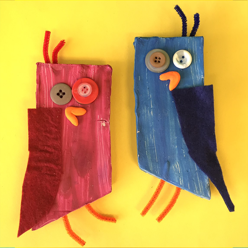 Kidcreate Studio, Love Birds Art Project