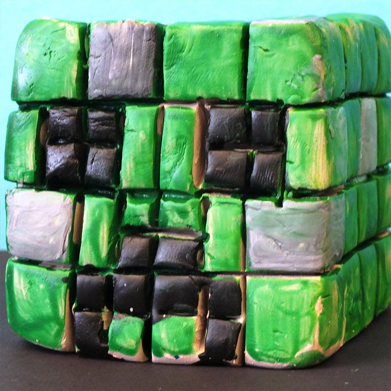 Kidcreate Studio, Minecraft Creeper Art Project