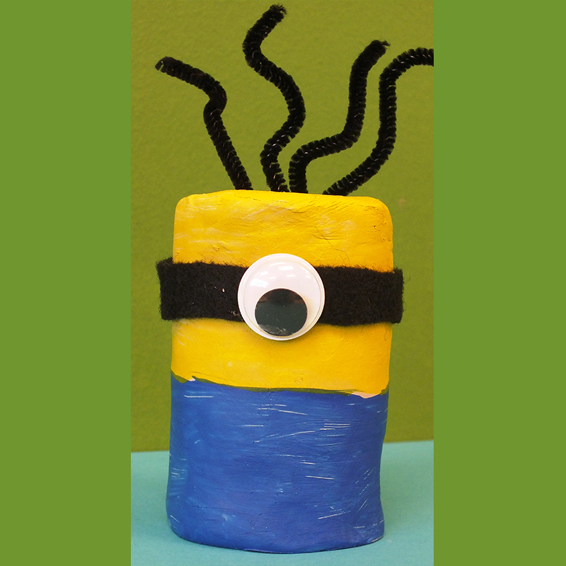 Kidcreate Studio, Minion Art Project