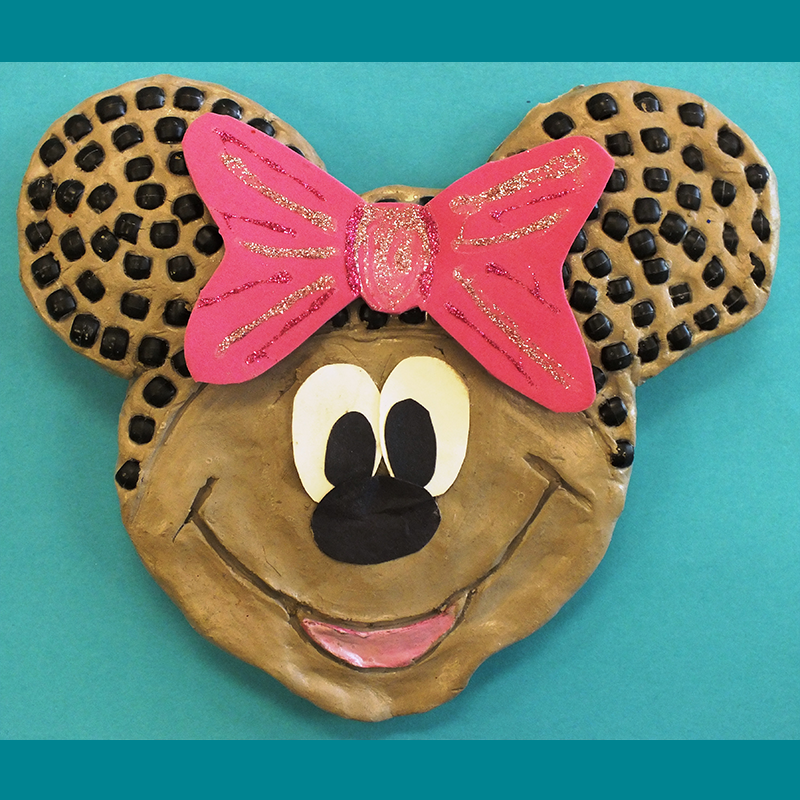Kidcreate Studio, Minnie or Mickey Art Project