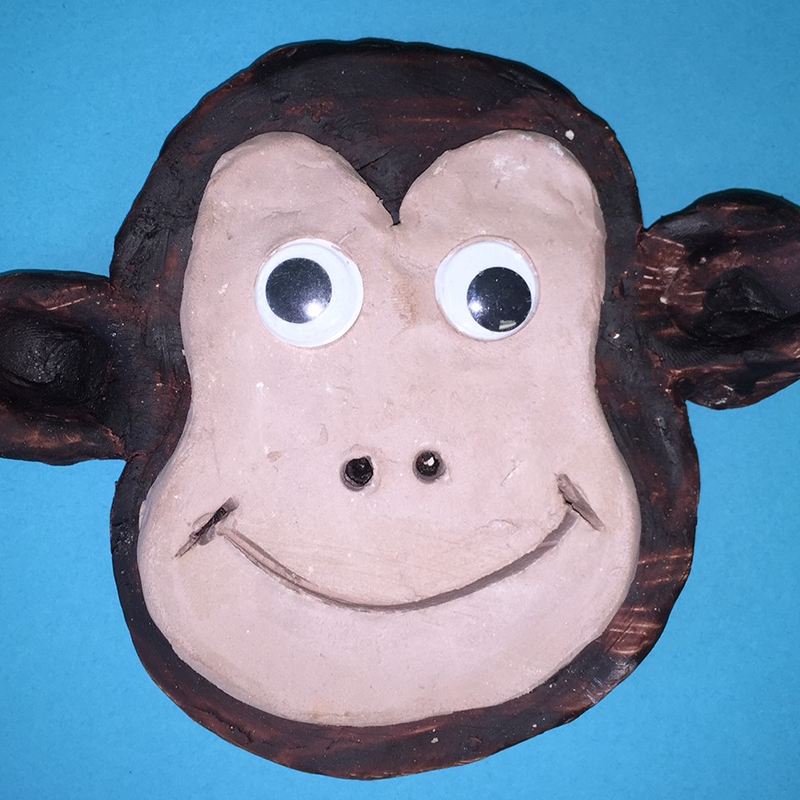 Kidcreate Studio, Monkey Art Project
