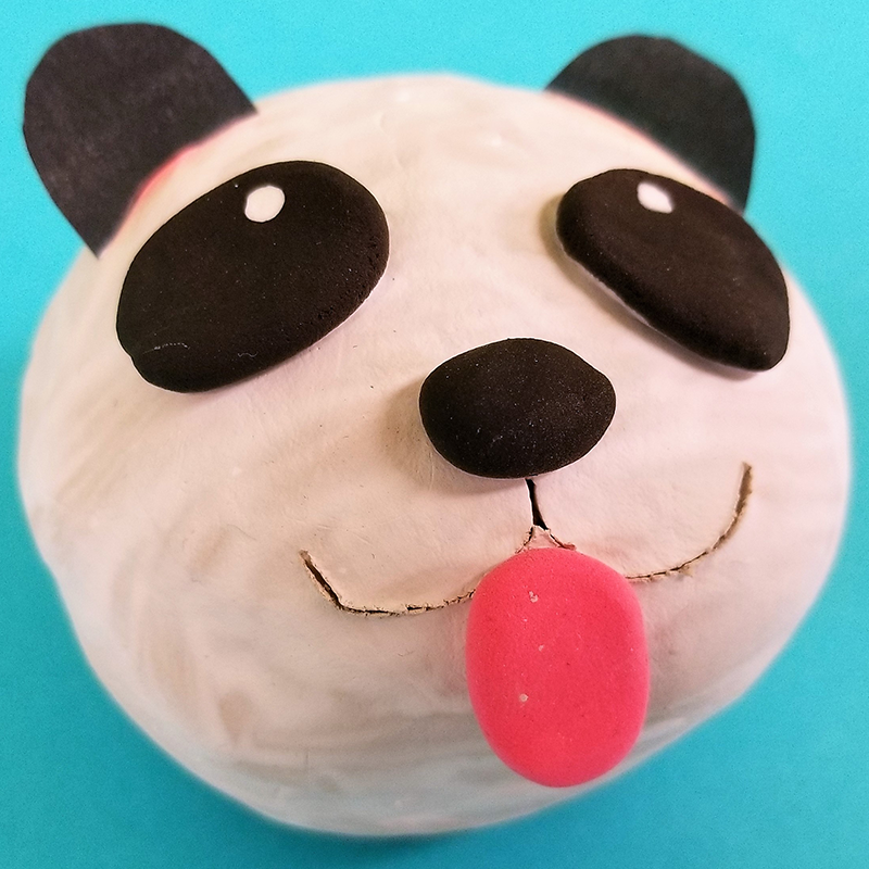 Kidcreate Studio, Panda Art Project