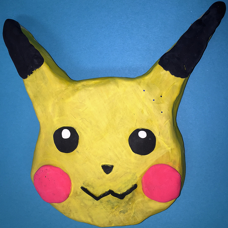 Kidcreate Studio, Pikachu Art Project
