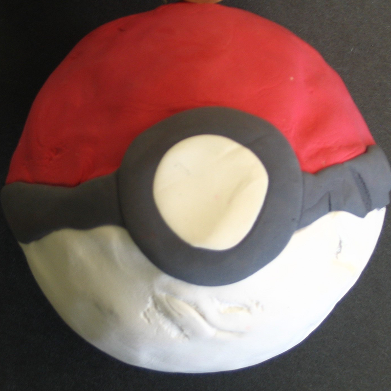 Kidcreate Studio, Pokeball Art Project