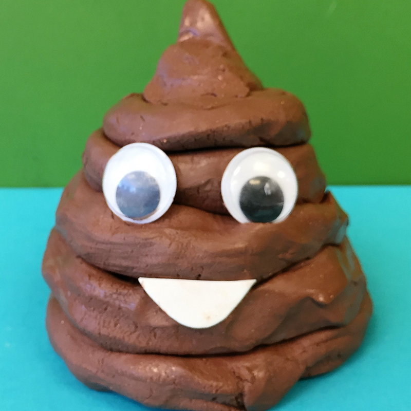 Kidcreate Studio - Ashburn, Poo Emoji Art Project