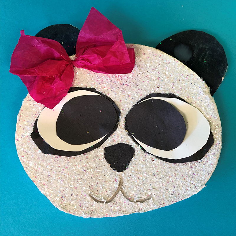 Kidcreate Studio, Sparkle Panda Art Project