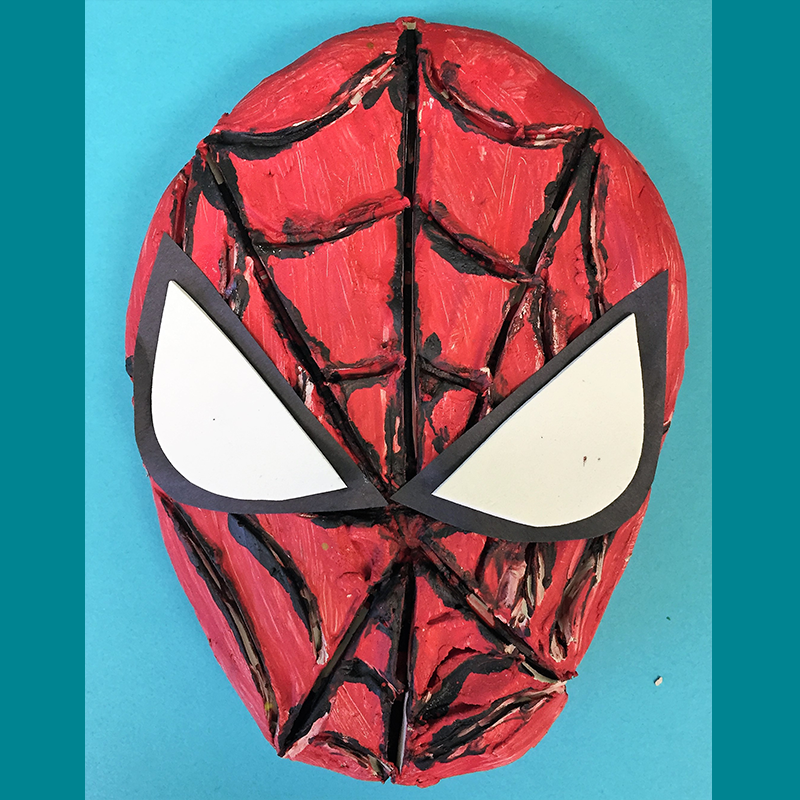 Kidcreate Studio, Spiderman Art Project
