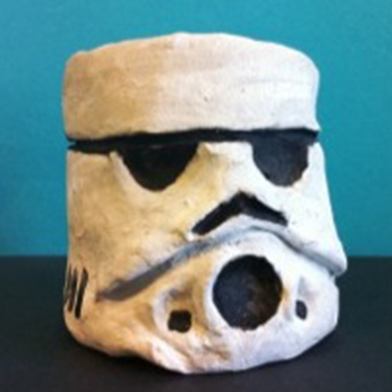 Kidcreate Studio, Storm Trooper Art Project