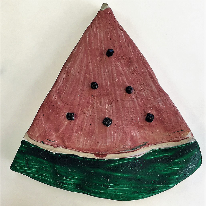Kidcreate Studio, Watermelon Art Project