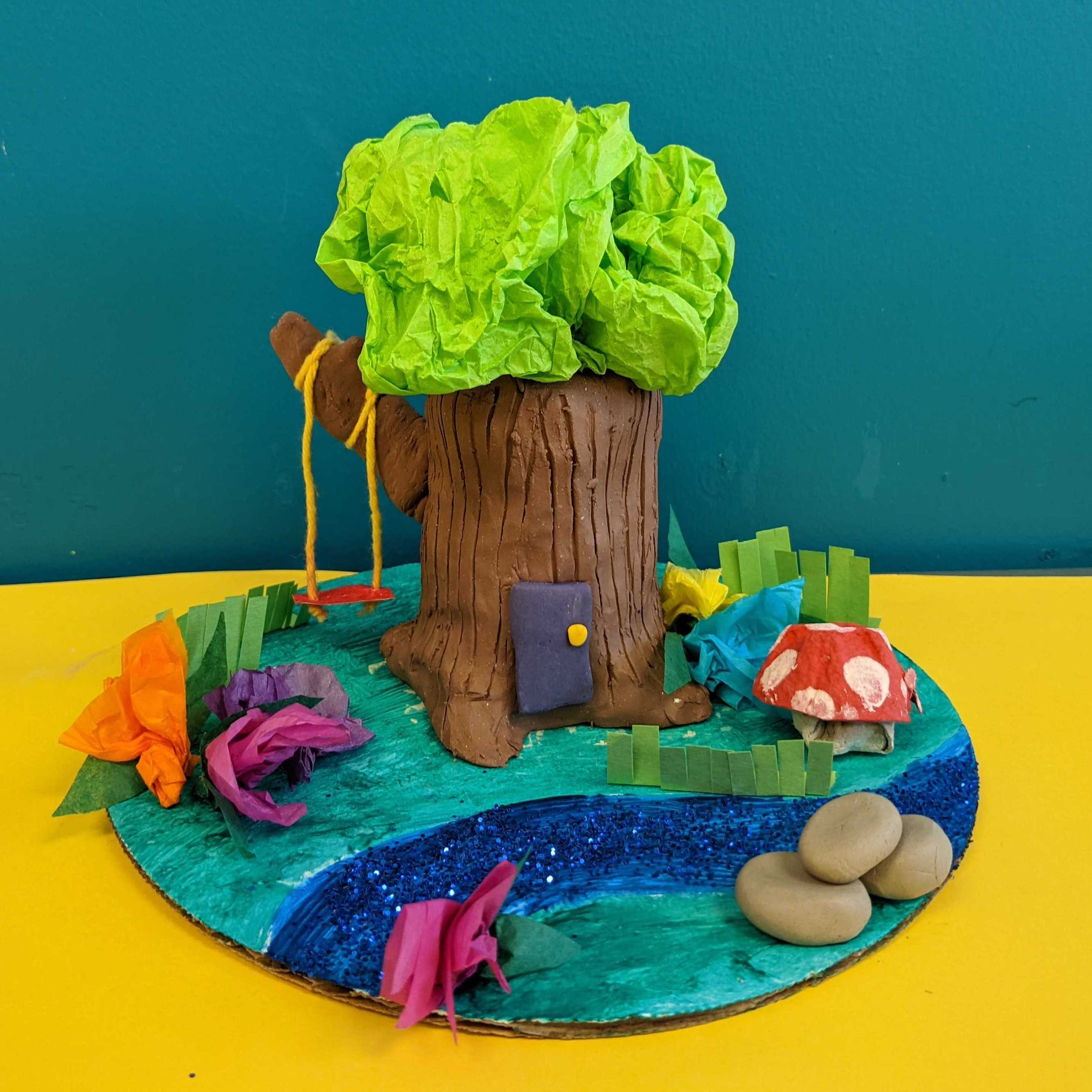 Kidcreate Studio, Fairy Garden Art Project