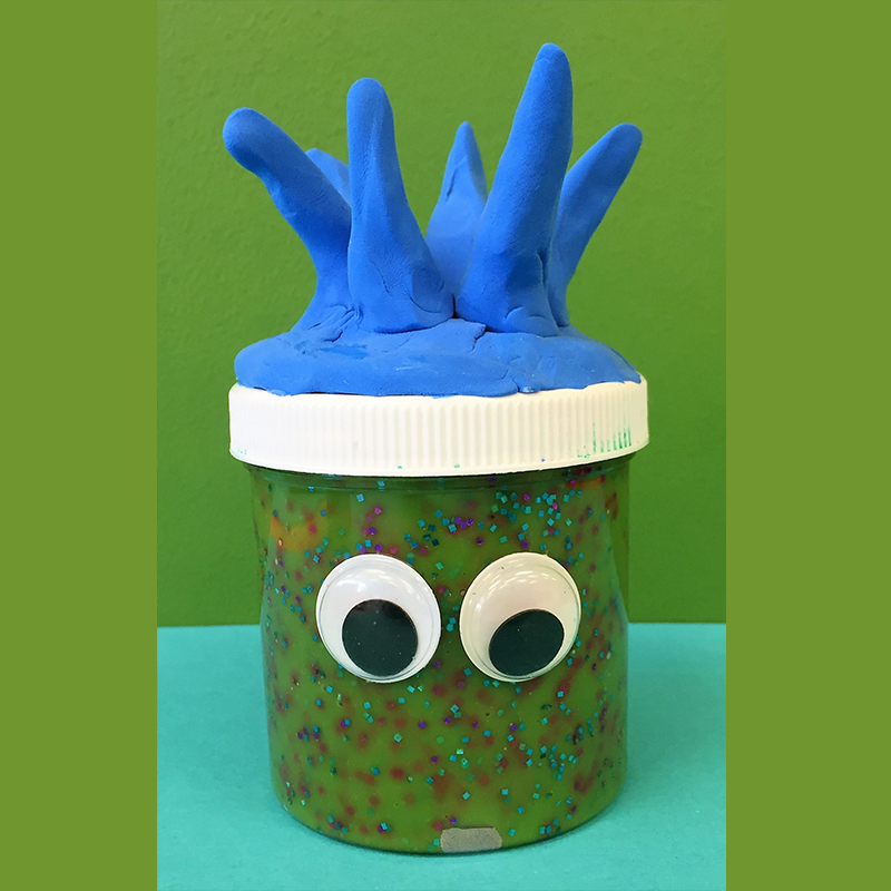 Kidcreate Studio - Johns Creek, Glitter & Slime Art Project