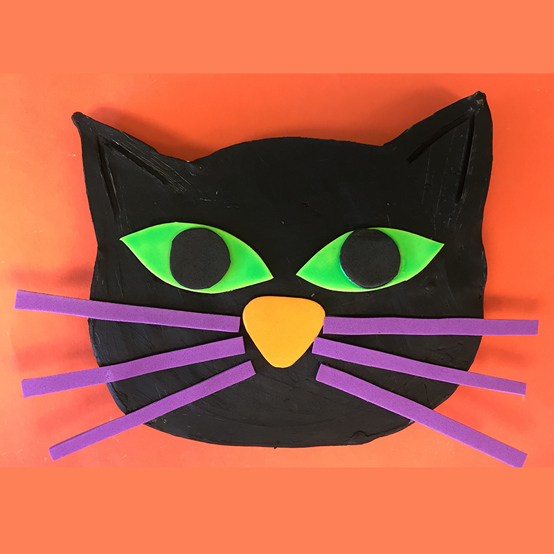 Kidcreate Studio, Glow-in-the-Dark Cat Art Project