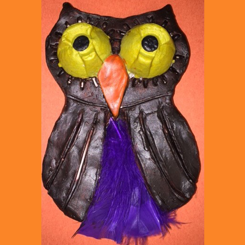 Kidcreate Studio, Glow-in-the-Dark Clay Owl Art Project