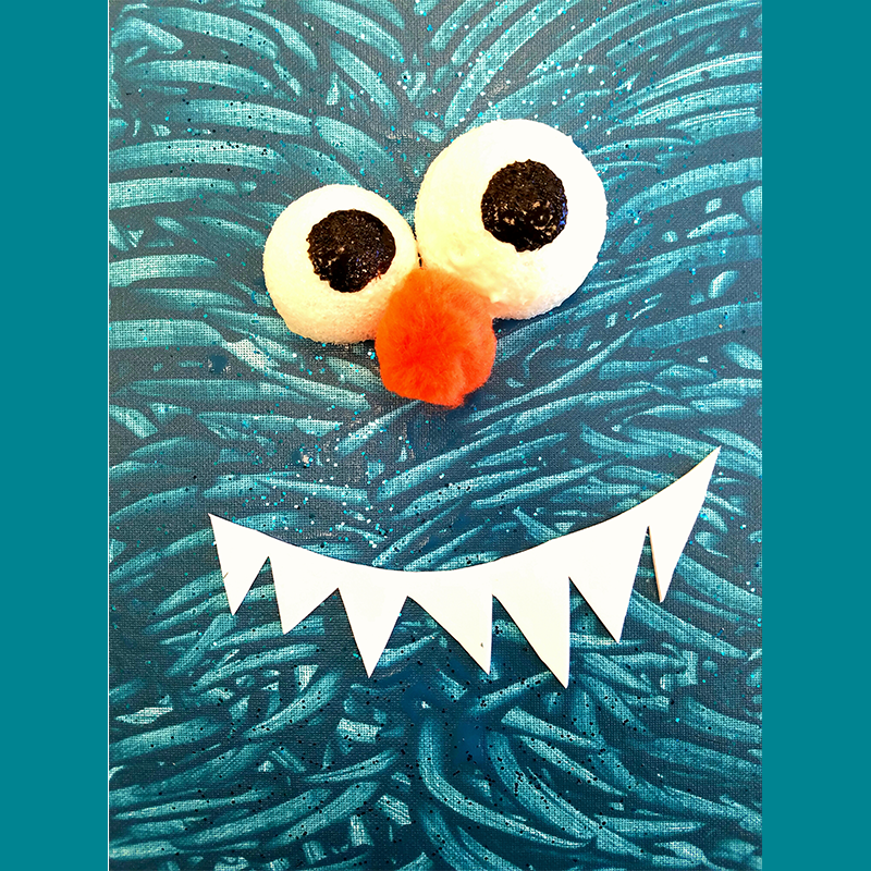 Kidcreate Studio, Silly Monster Art Project