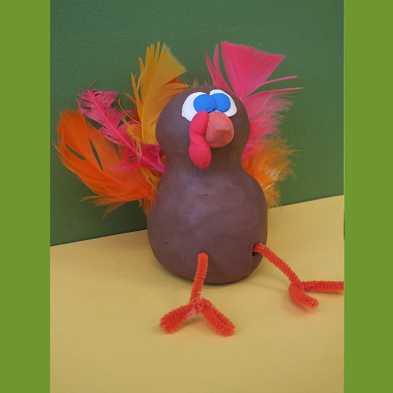 Kidcreate Studio, Gobble, Gobble Art Project