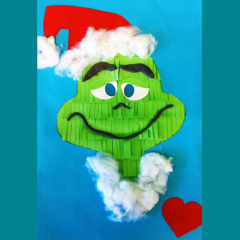 Kidcreate Studio, Grinch Art Project