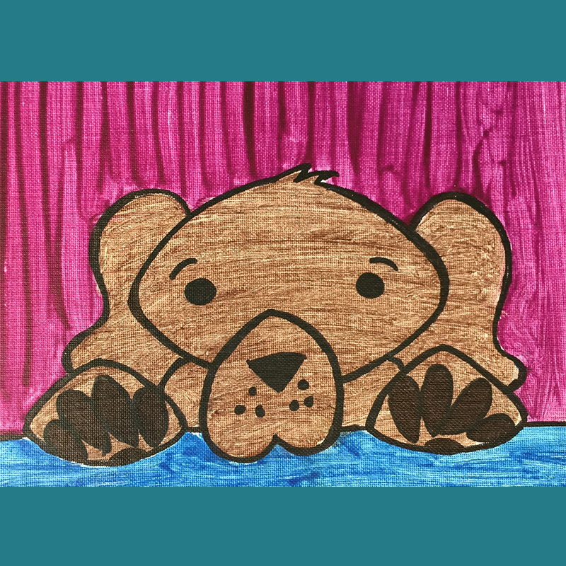 Kidcreate Studio, How to Draw & Paint a Puppy Art Project