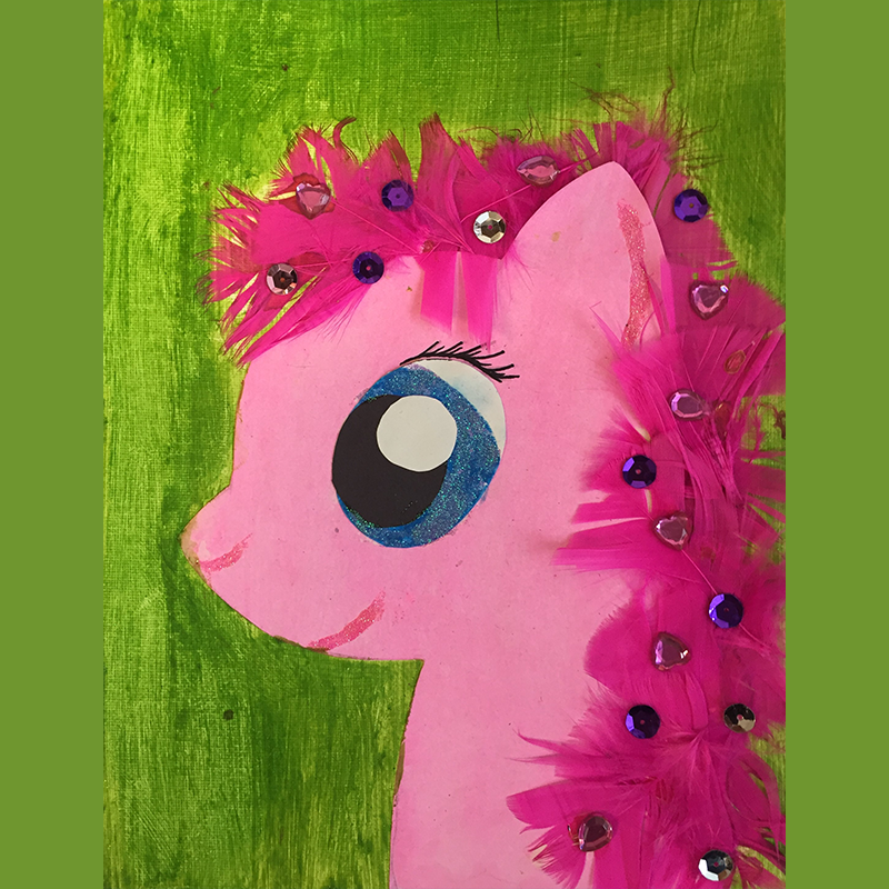 Kidcreate Studio, My Favorite Little Pony on Canvas Art Project