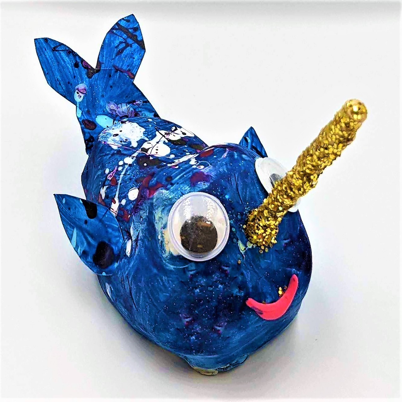 Kidcreate Studio, Nifty Narwhal Art Project