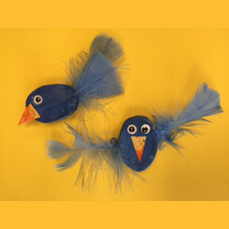 Kidcreate Studio, Silly Birds Art Project