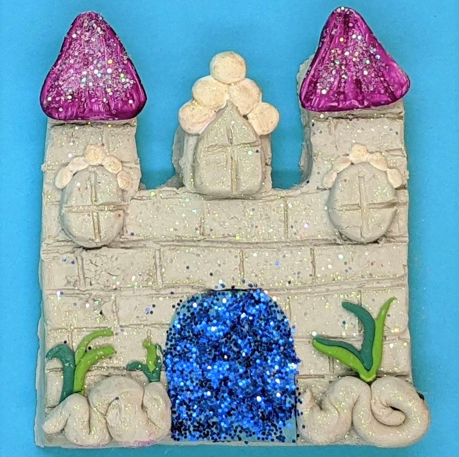 Kidcreate Studio, Sparkly Castle Art Project