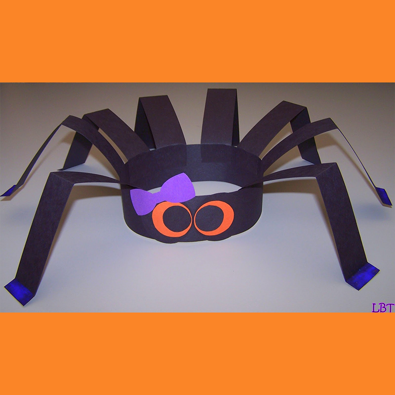 Kidcreate Studio, Spider Hat Art Project