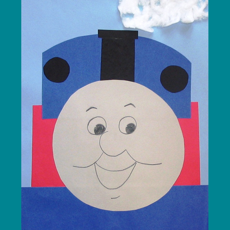Kidcreate Studio, Thomas the Tank Engine Art Project