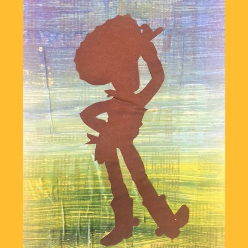 Kidcreate Studio, Toy Story Silhouette Art Project
