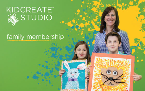 gift cards for kids art camps - Kidcreate Studio - Fayetteville